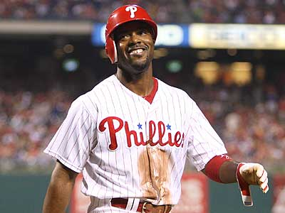 Jimmy Rollins hit 23 home runs and converted 30-of-35 stolen base attempts in 2012. (Steven M. Falk/Staff file photo)
