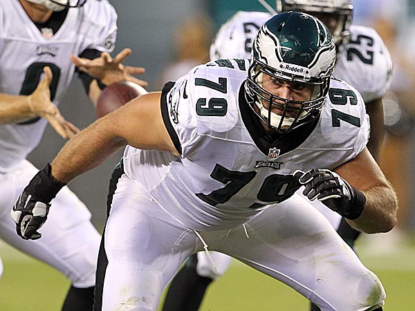 Eagles offensive lineman Todd Herremans. (Yong Kim/Staff Photographer)