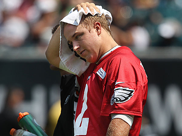 Eagles quarterback Matt Barkley. (Michael Bryant/Staff Photographer)