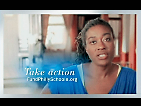Screengrab from anti-Nutter advertisement funded by the AFT and parent union of PFT