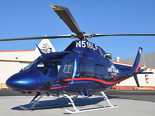 The AW119Kx helicopter. (Photo from agustawestland.com)