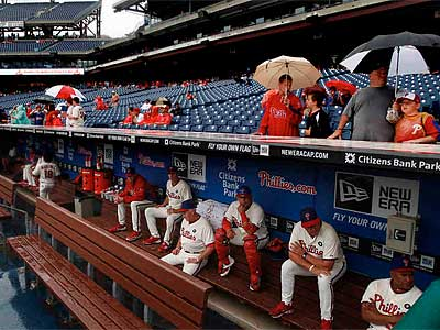 The Phillies will make up Saturday´s postponed game as part of a doubleheader on Sept. 15. (Ron Cortes/Staff Photographer)