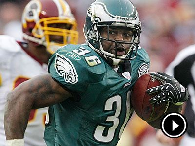 Brian Westbrook spent eight seasons with the Eagles. (AP Photo/Pablo Martinez Monsivais)