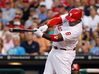 Ryan Howard and the Phillies have climbed back to within six games of a playoff spot. (Ron Cortes/Staff Photographer)