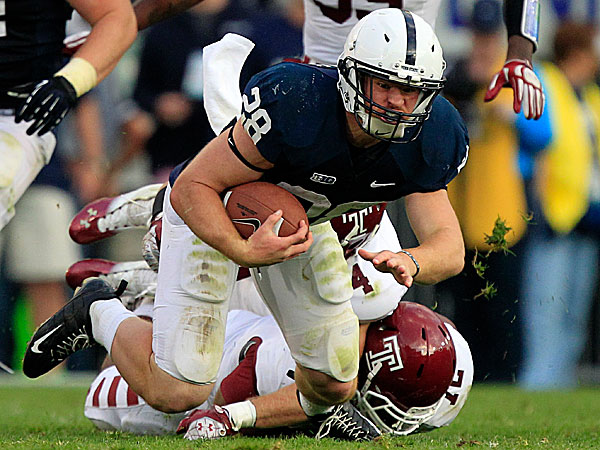 Penn State running back Zach Zwinak. (Gene J. Puskar/AP file photo)