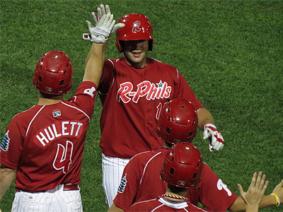 Darin Ruf´s bat powered the R-Phils to an Eastern League playoff berth. (Marc Narducci/Staff)