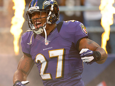 Is Ray Rice a top fantasy pick? (AP Photo/Nick Wass)