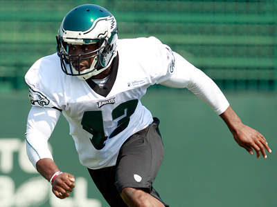 Atogwe, who signed a one-year deal in June, has missed the Eagles´ last two preseason games with a hamstring injury. (Yong Kim/Staff file photo).