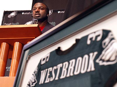 Brian Westbrook retired as a member of the Eagles on Wednesday, August 29. (David Maialetti/Staff Photographer)