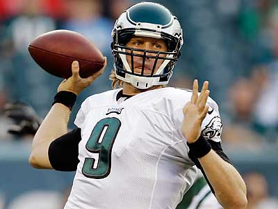 Nick Foles started his second preseason game against the Jets. (Matt Rourke/AP)