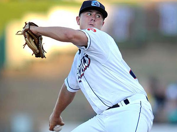 Mark Leiter Jr. of the Lakewood BlueClaws. (Photo courtesy of the Lakewood BlueClaws.)