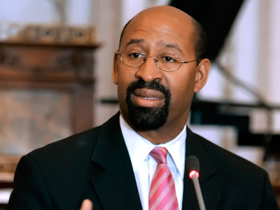 Mayor Nutter today called for the abolishment of the DROP program.