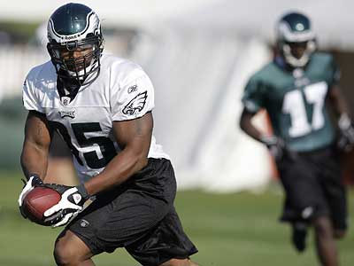 The Eagles traded up to draft defensive end Jerome McDougle in 2003. (David Maialetti/File photo)