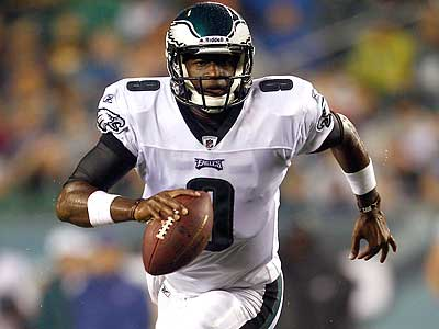 Vince Young will start for the Eagles Thursday against the Jets. (Matt Rourke/AP)