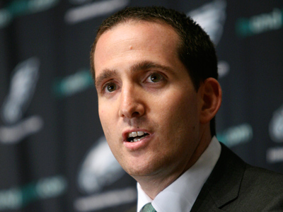 Eagles general manager Howie Roseman provided some context for the team´s roster changes Friday. (Mark Stehle/AP file photo)