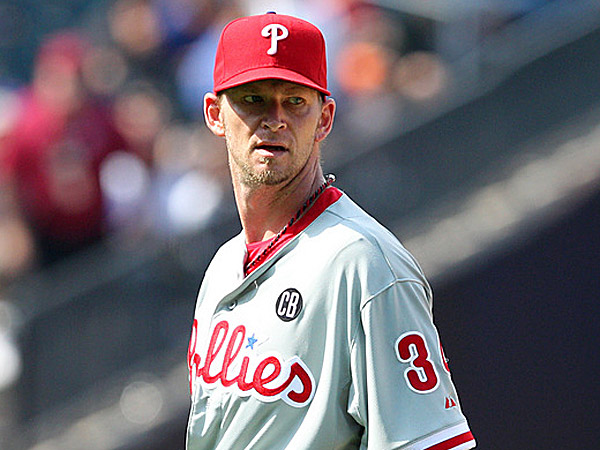 Phillies starting pitcher A.J. Burnett. (Brad Penner/USA TODAY Sports)