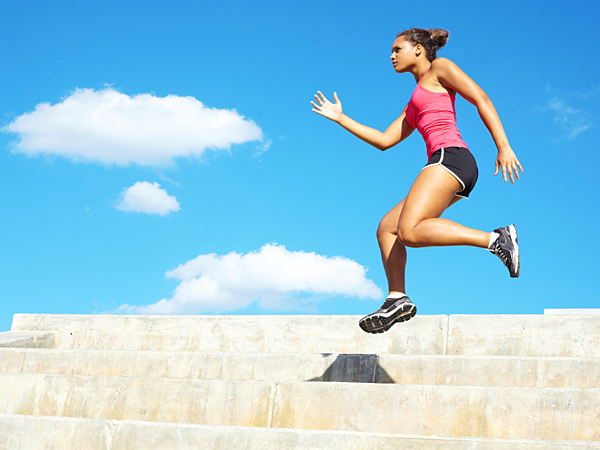 A study has found that working out intensely for just 2.5 minutes can spur calorie burn throughout the day - an extra 200 calories´ worth. (iStock)