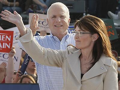 Alaska Gov. Sarah Palin & U.S. Sen. John McCain