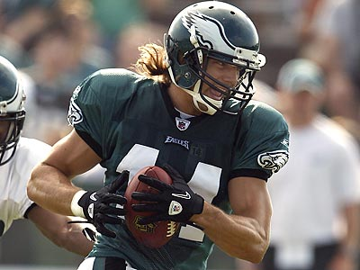 Riley Cooper is one rookie hoping to make the final roster. (David Maialetti / staff photographer)