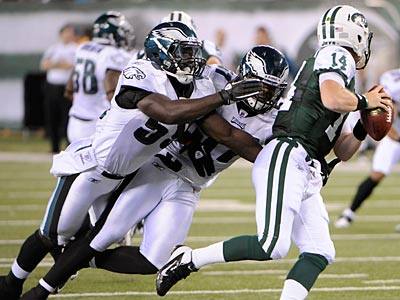 Brian Rolle replaced Casey Matthews at weakside linebacker. (Bill Kostroun/AP)