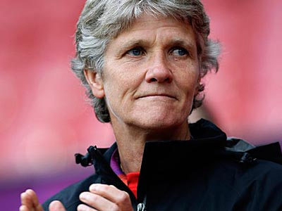 Pia Sundhage announced she will be stepping down as head coach of the U.S. women´s national soccer team. (Jon Super/AP photo, File)