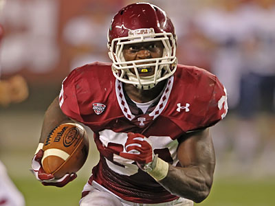 Temple is undefeated in games in which Bernard Pierce has rushed for over 100 yards. (Michael Bryant/Staff file photo)
