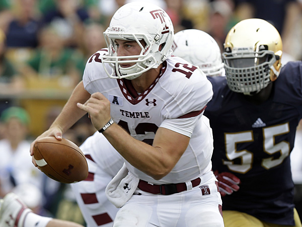 Temple quarterback Connor Reilly. (Michael Conroy/AP)