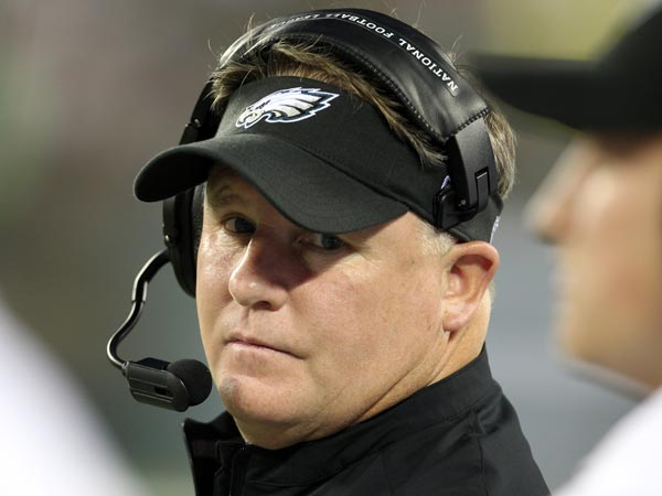 Eagles head coach Chip Kelly. (Peter Morgan/AP)