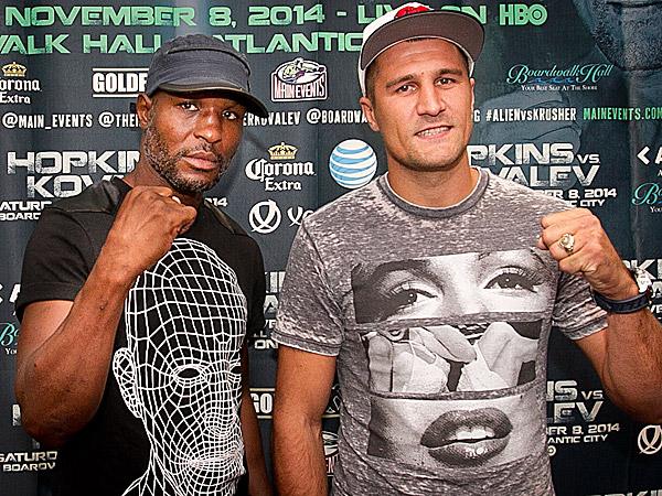 Чем ближе бой Хопкинс-Ковалев, тем больше оба боксера подогревают к нему интерес