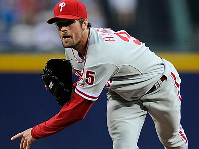 Cole Hamels will start Saturday afternoon´s game against the Mets. (AP file photo)