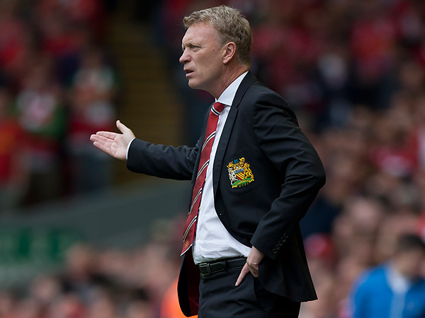 Manchester United manager David Moyes. (Jon Super/AP file photo)