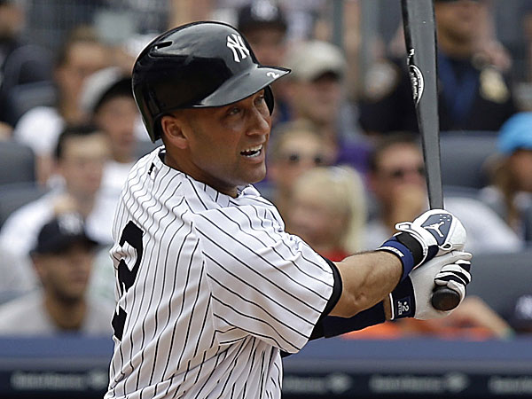 The Yankees´ Derek Jeter. (Seth Wenig/AP)