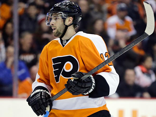 Simon Gagne could be at the Flyers´ preseason camp. (AP Photo/Matt Slocum)