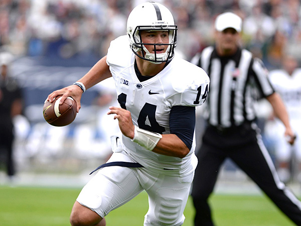 Penn State quarterback Christian Hackenberg. (AP Photo)