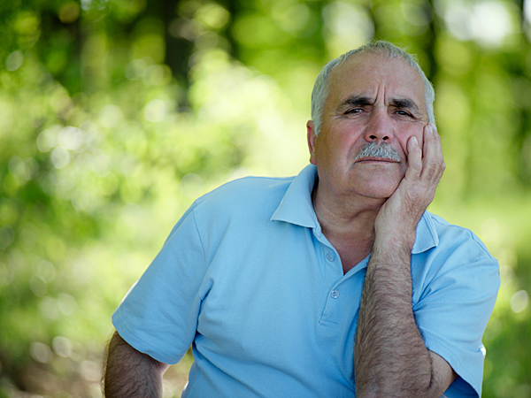 He remembers an old friend from church. (iStock)