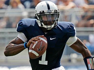 Quarterback Rob Bolden and Penn State play Iowa this Saturday. (Gene J. Puskar/AP)