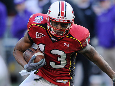 Kerry Boykins is one of Maryland´s wide receivers who has Steve Addazio´s attention. (Nick Wass/AP file photo)