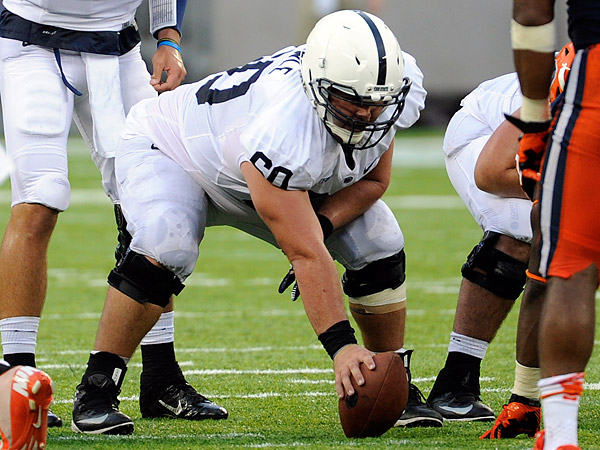 Penn State center Ty Howle. (Bill Kostroun/AP)
