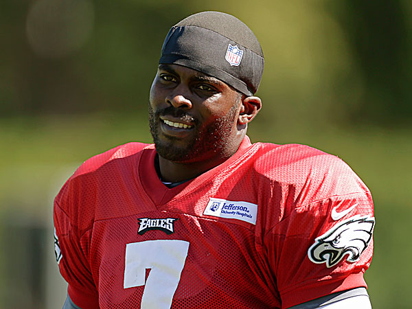 Eagles quarterback Michael Vick. (Matt Rourke/AP)