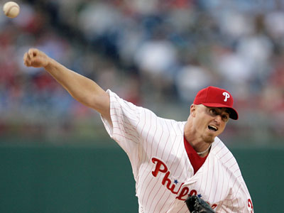 The Phillies have won six of pitcher Brett Myers´ last seven starts, and six of eight overall since he returned from the minors. (Yong Kim / Daily News)