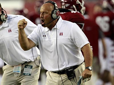 Temple head football coach Steve Addazio. (David Swanson/Staff Photographer)
