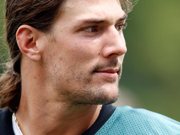 Riley Cooper. (David Maialetti/Staff Photographer)