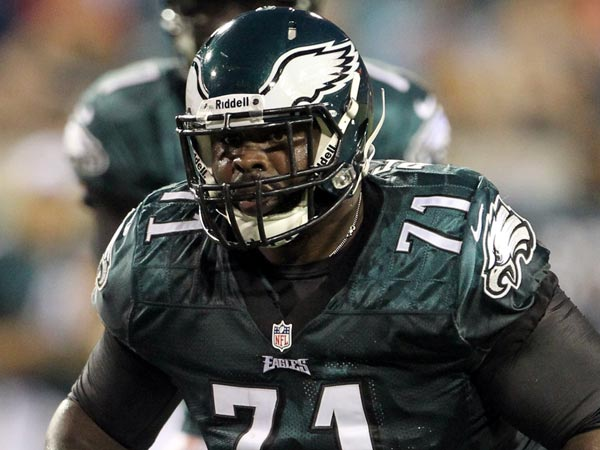 Eagles offensive lineman Jason Peters. (Yong Kim/Staff Photographer)