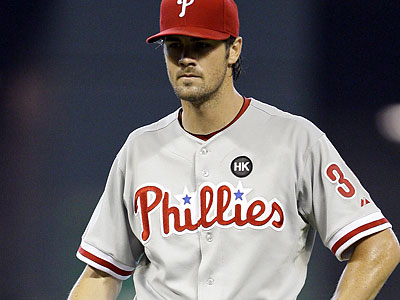 Cole Hamels has allowed just five runs in his last 29 2/3 innings, and  has a lot more postseason experience than fellow top starter Cliff lee. (David J. Phillip/AP)