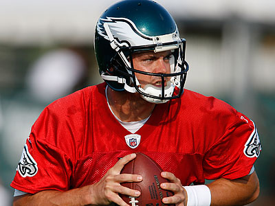 New Eagles quarterback Kevin Kolb may suffer some growing pains this season. (David Maialetti/Staff file photo)