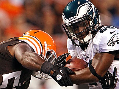 The Eagles and Browns played a preseason game against each other on August 24. (David Maialetti/Staff Photographer)