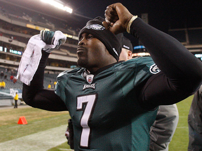 At $12,500,000, Michael Vick is the highest-paid Eagle. (David Maialetti/Staff file photo)