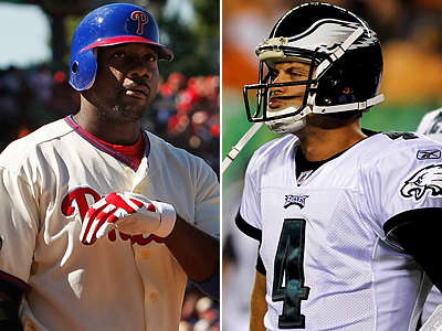 Can Ryan Howard push the Phils over the Braves? How will Kevin Kolb do as a starter? (File Photos)