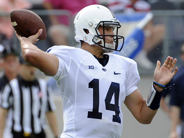 Penn State quarterback Christian Hackenberg. (Bill Kostroun/AP file photo)