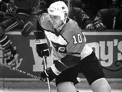 Brad McCrimmon (above) and Hall of Famer Mark Howe formed the best defensive duo in Flyers history. (File photo)